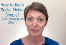 Social Media training / Simple Social Media tips and training for Entrepreneurs.