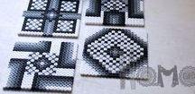 Perler coasters