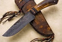 Knives - antler, horn, bone handle / My knive