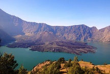 Conquering the second highest volcano in Indonesia, Mt. Rinjani. / by The Jakarta Post Travel