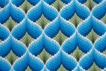 Emb. Bargello, Vagonite, Swedish Weaving