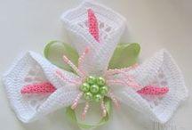 Crochet Doilies, Flowers, Edgings
