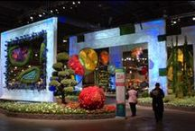 2014 Philadelphia Flower Show / Valley Forge Flower once again helped construct the grand entrance to the world famous Philadelphia Flower Show!