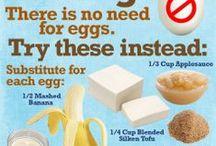 Foods, Ingredient Substitutions