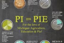 Pi Day / Celebrating Pi Day (March 13) in support of Michigan agriculture, education, and pie! / by Grand Traverse Pie Company