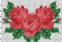 CrossStitch Rose / by Kis Anna