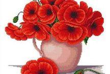 CrossStitch Poppy
