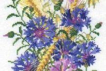 CrossStitch Cornflower