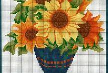 CrossStitch Sunflower