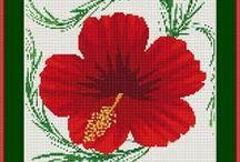 CrossStitch Hibiscus