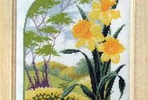 CrossStitch Daffodil