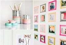 Craft & DIY ideas / If you want something done right... it's always best to do it yourself. Pinning ANYTHING creative that can be done at home.