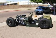 Jeep Rat Rod / by Ron Wallace