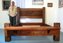 Marc's furniture / Reclaimed furniture built by Marc Deloach at Taylor Arts in Taylor, Mississippi.