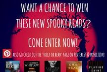 Trick or Read / Spooky new suspense reads from TNZFICTION!