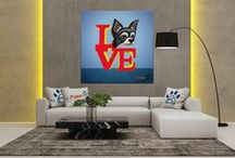 Furry Paw Pics Signature Portraits / Furry Paw Signature Series Portraits are personalized pet art that utilize luxurious designs to turn your family dog, cat, or exotic pet pictures into beautiful and unique wall decor. Set your imagination free and let your inner pet lover be marveled by all the boundless possibilities.