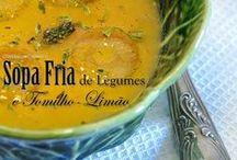 Recipes | Soups / Sopas | Soupes | Zuppe by COMIDAcomPAIXÃO