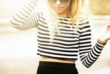 How to wear stripes!