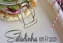 Recipes | Salads / Saladas | Salades | Insalate by COMIDAcomPAIXÃO