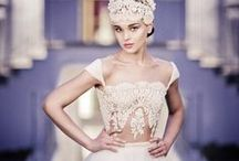 Niely Hoetsch Headpieces & Solaine Piccoli Wedding Dresses / #mynielyhoetschandsolainepiccolistyle #solainepiccoliinvienna  #nielyhoetschheadpieces