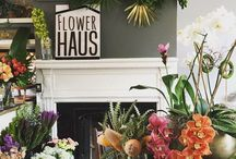 Our HAUS / This board showcases our style in the studio and how we incorporate fresh flowers into home decor. We are florists located in the heart of Shepherdstown, WV
