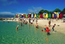 Local spot - St James / St James Beach is one of the smaller beaches along the False Bay coastline but this doesn't detract from its charming appeal. The colourful beach huts and the large tidal pool are a trademark of St James.