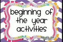 First week activities