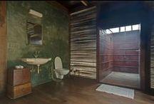 Bad / Bathroom, interior, daylight, outdoor showers, alternative materials