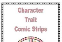 Reading strategy- character traits