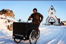 Winter Cycling / cycling in snow, rain and ice. sport, utility, fun and touring bicycles, gadgets, mtb, biking & skiing