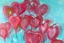 Heart Art / Beautiful art to make and share.