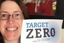 Target Zero Heros / Join DBSA's Target Zero to Thrive campaign and submit your picture to win a free campaign pin. Details at http://bit.ly/1e5q9lG / by DBSA (Depression and Bipolar Support Alliance)