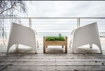 Tarasy i balkony / Szukamy inspiracji. Jak zaaranżować taras lub balkon w celach wypoczynkowych.