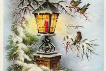 Новый год|Рождество|Картинки / новогодний декупаж