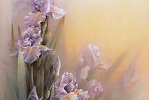 Цветы декупаж|Картинки