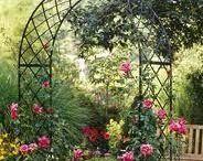 Unelmapuutarha / Kaunis puutarha kuvina.