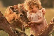 Luonnon lapsia / Liikuttavia tilannekuvia suloisista lapsista.