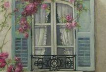 Ikkuna-asetelmat / Ikkunasomisteet