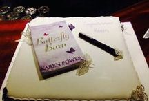Butterfly Barn Book Launch / I had a fantastic evening at The Book Centre where Margaret Organ, Arts Officer for Waterford City & County launched Butterfly Barn. http://www.karenpowerauthor.com/