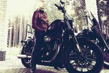 HD and bikers stuff / and yes I am a ladybiker
