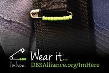 """I'm here... / I'm here... is a way for people living with a mood disorder, and those who support them, to open up a channel for communication and to say, """"I'm here...""""  Learn about the DBSA I'm here campaign: http://www.dbsalliance.org/ImHere  I'm here... is a program brought to you by DBSA made possible through the support of Rebecca's Dream® Foundation."""