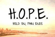 Hope / by DBSA (Depression and Bipolar Support Alliance)