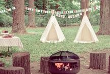 Camping party | Birthday party