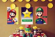 Mario kart party | Birthday party