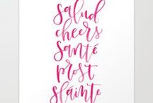 alexandra em. | print shop / Hand lettered prints and travel photography prints by Alex.  Purchase art prints, mugs, phone cases, pillows, tote bags, cards, and more!
