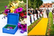 Colourfull outdoor wedding / Kolorowe wesele i ceremonia w plenerze