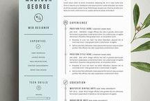 Design | Creatieve CV / Creatieve CV's waarmee je opvalt en een grotere kans hebt om wél uitgenodigd te worden voor een gesprek over je droombaan.