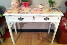 something old into something new with tlc vintage granny shabby chic furniture