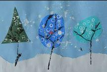 Winter crafts preschool