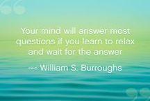 Floatation Quotes & Meditation